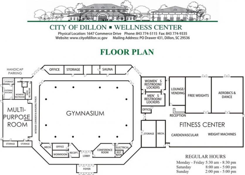 Drive I 95 City Of Dillon Wellness Center