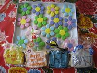 Sample of wares at Galaxy Cookies