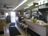 Inside Pat's Diner