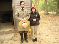 Sandra with Thoreau again