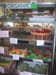 Oragnic Vegetable Display at Ward's