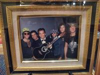 Dick Clark Photo at American Bandstand Resto, Molly Pitcher