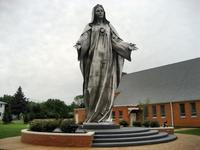 Our Lady Queen of Peace, Holy Spirit Church beside I-95