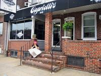 Eating Thanksgivig Dinner on a Bun at Capriotti\'s
