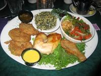 Fried Green Tomatos and more, Clark\'s