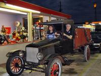 In an old Ford at Crazy D\'s, Hardeeville