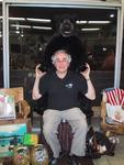 Captured by a bear at Crazy D\'s