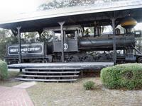 Old Engine at Hardeeville Museum