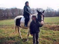 Sandra on a Horse at Fairwinds