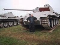 Tank field at Ordnance Museum, Aberdeen