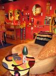 Art Deco furniture at Savage Mill