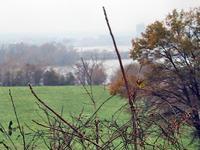 View of Washington across the Potomac at Oxon Hill Farm