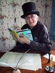 Stan the scribe at Oxon Hill Farm