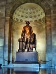 Washington Statue in the main floor hall