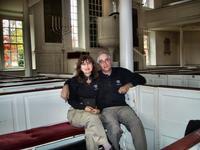 Washington\'s pew in Christ Church