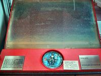 Magna Carta printing plate, Collingwood Library