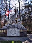 Iwo Jima Monument at the gates to Quantico Marine Base