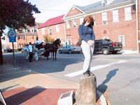 Slave trading block, Fredericksburg
