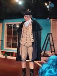 George orating at the Hanover Tavern