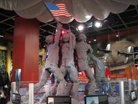 Lego Iwo Jima monument
