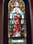 Stained glass in Blandford Church, Petersburg