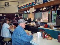 Lunch counter at Anderson\'s Pharmacy, Emporia