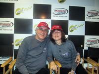Sandra and Stan at Richmond Int\'l Raceway
