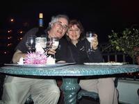 Our balcony at Planter\'s Inn, Savannah