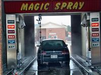 Our car in the Car Wash, Fayetteville
