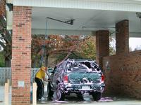 Do it yourself Car Wash at the Comfort Inn, Fayetteville