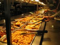 Buffet at Fuller\'s BBQ, Lumberton