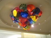 Glass chandelier at the Mayo Clinic, Jacksonville