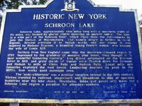 Schroon Lake Historic marker