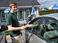 Curb Service at McSweeney\'s Hot Dogs, Plattsburgh