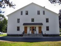 Meeting Hall at the Shaker Village, Albany